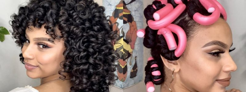 How to Easily Curl Natural Hair with Flexi Rods